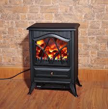 homcom 1850 w flame effect electric fireplace black aosom co uk