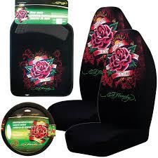 amazon com ed hardy dedicated to the one i love 5 pc set seat