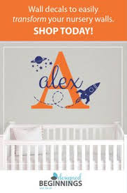 Wall Decal Letters For Nursery Large Letter Stickers Alphabet Letters Wall Letters For Nursery