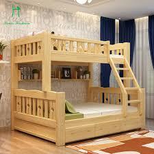 Children Bunk Bed Amazing Aliexpress Buy Solid Wood Bunk Bed Children Wooden With