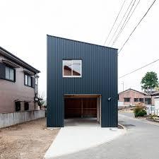 minimalist box shaped house by yoshihiro yamamoto danchi hutch