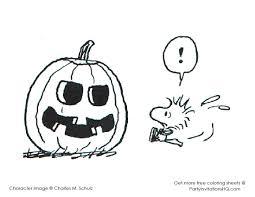 halloween printables coloring charlie brown pages