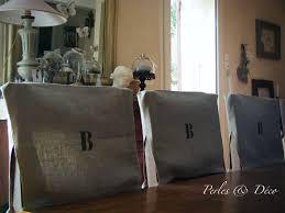 dossier de chaise housses de chaise en pochoir b photo de projets personnalisés