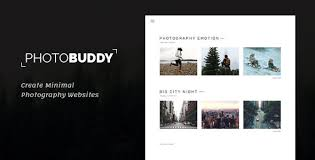 Photography Websites Photography Themes From Themeforest