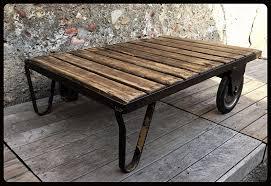Table De Salon Industrielle by Alinea Table Basse Industrielle U2013 Phaichi Com