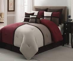 chic home regina 7 piece plush microsuede comforter set includes