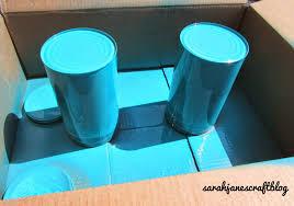 sarah jane u0027s craft blog ombre spray painted tins