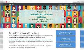 formato de acta de nacimiento en blanco gratis ensayos gratis y por internet las actas de nacimiento el expreso de ceche