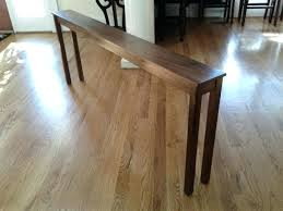 Narrow Sofa Table Narrow Sofa Table Metropark Info