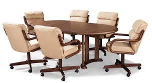 wood vinyl solid orange nailhead kitchen chairs with rollers wood vinyl solid orange nailhead kitchen chairs with rollers limestone countertops table cabinet flooring lighting