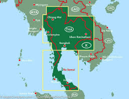 Map Of Thailand Map Of Thailand Freytag U0026 Berndt U2013 Mapscompany