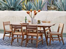 Modern Patio Dining Sets Care For Modern Teak Dining Chairs