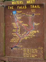 Shawnee Map Vertical Wallpaper Ricketts Glen Map