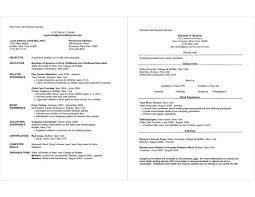 Example Resume Waitress Cover Letter Sample Resume For Employment Sample Resume For