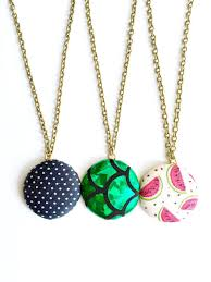 necklace etsy images Best fabric necklace etsy products on wanelo jpg