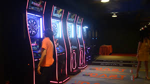 low price good quality coin operated electronic dart board arcade