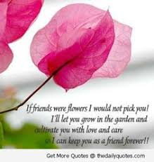 Flower And Love Quotes - when i met you flowers started growing in the darkest parts of my