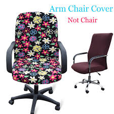 Recover Chair Elastic Rotating Chair Recover Washable Stretch Office Computer Arm
