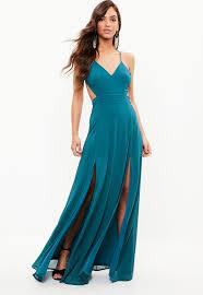 blue dress blue maxi dress missguided