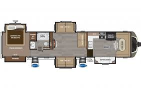 Montana Fifth Wheel Floor Plans 2017 Keystone Montana Fifth Wheel 3820fk Holiday World Of Dallas
