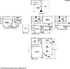 Richmond American Floor Plans Ellwood By Richmond American At Beacon Park
