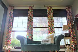 Simple Curtains For Living Room The Happiest No Sew Diy Curtains For My Office