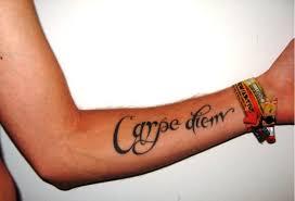carpe diem tattoo men more information