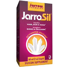 jarrow formulas jarrosil activated silicon liquid 2 oz 60 ml
