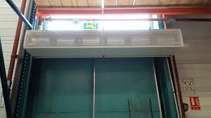 air curtains for cold stores and large freezers
