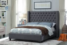 everly quinn park upholstered platform bed u0026 reviews wayfair