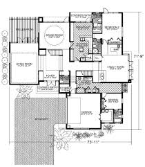 modern style house plan 4 beds 5 50 baths 4855 sq ft plan 420 240