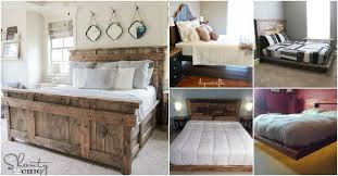 Bed Frame Designs 21 Diy Bed Frame Projects Sleep In Style And Comfort Diy Crafts
