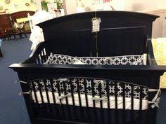 Gothic Baby Cribs by Red Black And White Gothic Skull Baby Crib Bedding Set For The