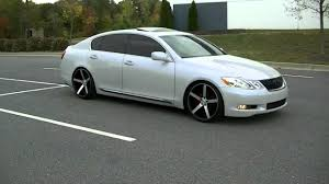 2007 lexus gs 350 tires 06 gs300 on 20