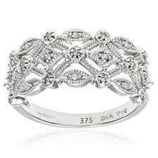 white gold engagement rings uk naava 9ct white gold diamond ring co uk jewellery