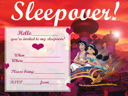 sleepover party invites invitations for sleepover party