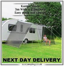 Caravan Awnings For Sale Ebay Kampa Mesh Panel Caravan Sun Shade Canopy Ce740575 Ebay