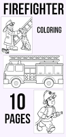 lego firefighter coloring pages pdf fireman pictures print