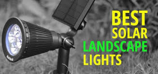 Solar Patio Lighting Solar Landscape Lighting Ledwatcher