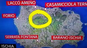 Ischia Italy Map by Terremoto A Ischia Erdbeben In Ischia Earthquake In Ischia