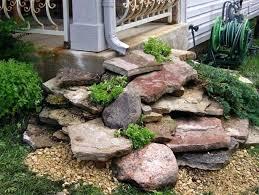 Diy Rock Garden Diy Rock Landscaping Rock Landscape Edging Ideas Diy Landscaping