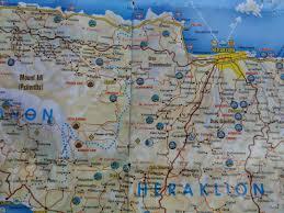 Crete Map Maps Of Crete