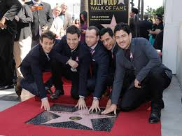 Hollywood Walk Of Fame Map New Kids On The Block Photos Watn New Kids On The Block Ny