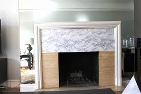 fireplace simply styled