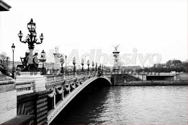 paris bridge wall murals paris