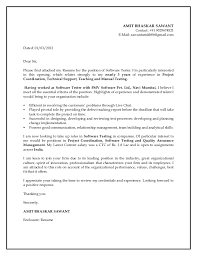 Manual Testing 2 Years Experience Resume Cover Letter