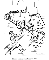 fire truck coloring pages getcoloringpages