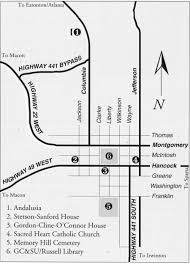 Atlanta Bypass Map by Flannery O U0027connor Room Special Collections Research Guides At