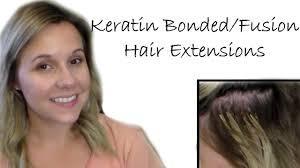 keratin bonded extensions keratin bonded fusion hair extensions pros cons demos application