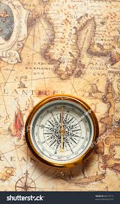 Map Compass Old Compass On Ancient Map Compass Stock Photo 83613715 Shutterstock